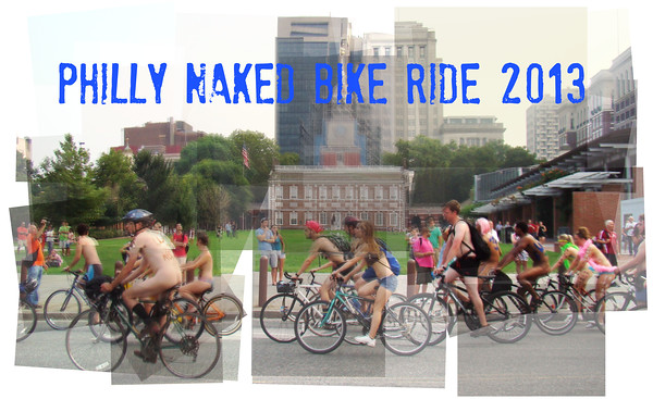 Philly Naked Bike Ride 2013