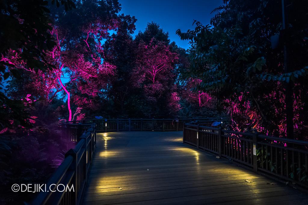 Singapore Zoo Rainforest Lumina - Treetops