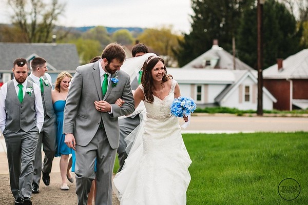 Ashley & Jason, Warren, PA Wedding