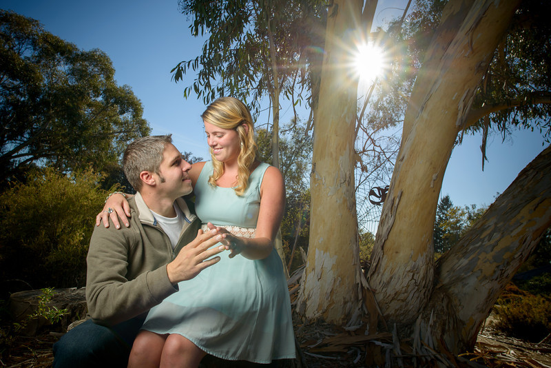 Ellen and John (Engagement Photography) @ UCSC Arboretum, Santa Cruz, California