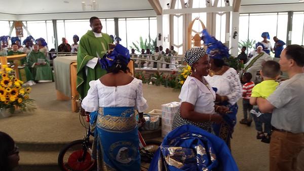 St. Francis Church Visit 091315