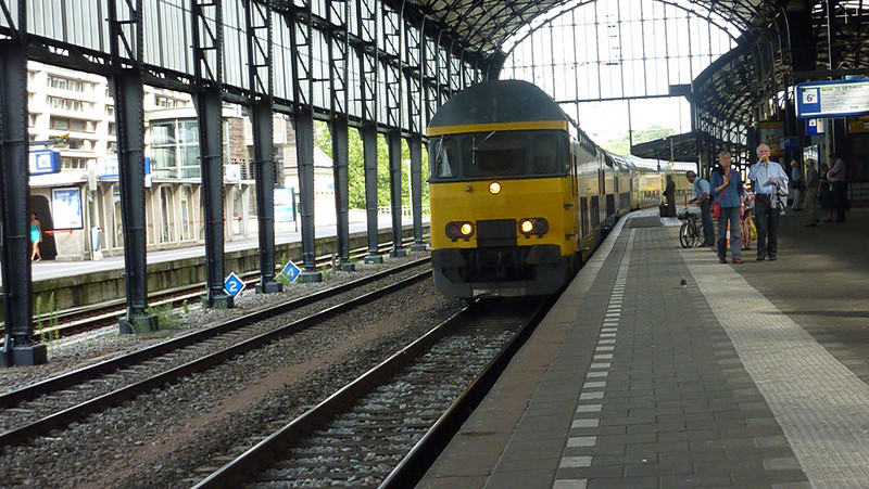 Our train from Haarlem to Delft.