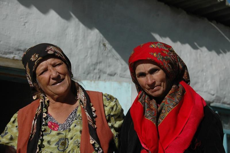Pamiri Women - Ishkashim, Tajikistan