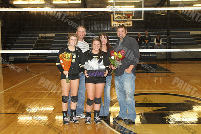 NHS vs Batesville Sr Night 2011