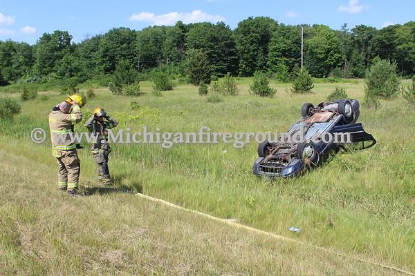 7/2/20 - Mason rollover crash, US-127 @ mile marker 66