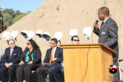 George Gervin Ground Breaking Ceremony