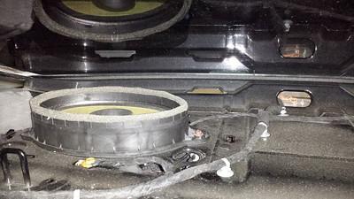 2011 Chevrolet Camaro LT Rear Deck Speaker Installation - USA