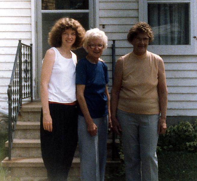 Charla, Eva and Anita