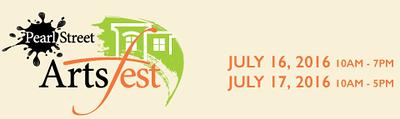 July 2016 :: Pearl Street Arts Fest