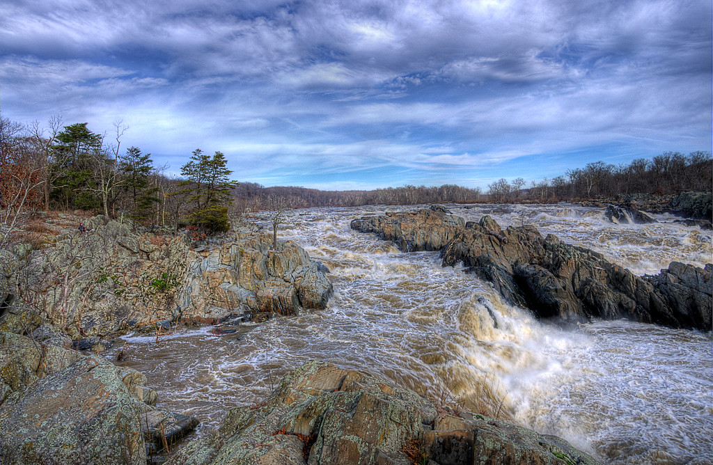 The Virginia side of the Great Falls, November 2011