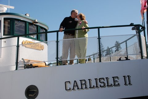 Anniversary Sail on the Carlisle April 12, 2008.