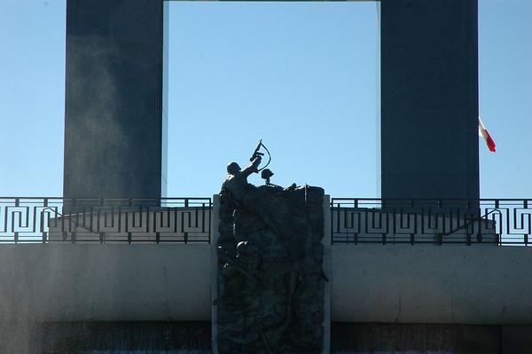 Cadets visit D-Day Memorial in Bedford, VA