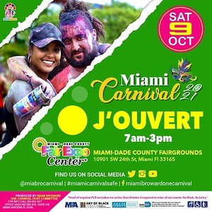 """MIAMI CARNIVAL JOUVERT """"coming soon"""""""