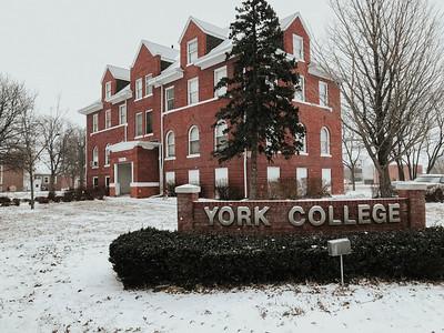 Campus in the Snow - Feb 5