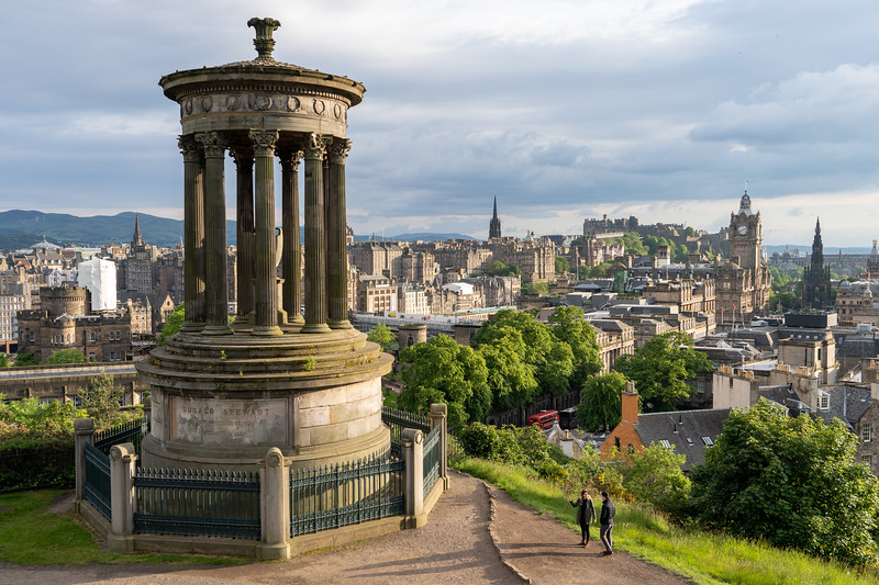 Calton Hill in Edinburgh