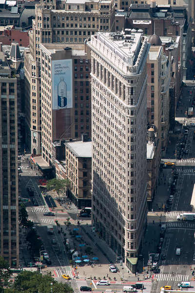 The Flatiron Building -- A trip up the Empire State Building, New York City