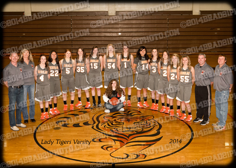 DHS Lady Tigers Varsity Team Photos 2014