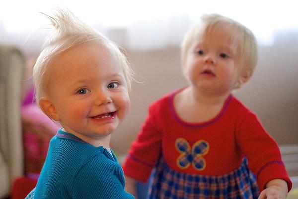 Annika and Elise - November 17, 2013