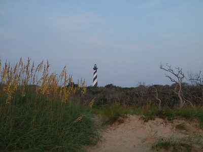 Cape Hatteras Lighthouse at Dawn 8-8-09