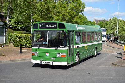 Wellingborough Bus Rally, 23 April 2017