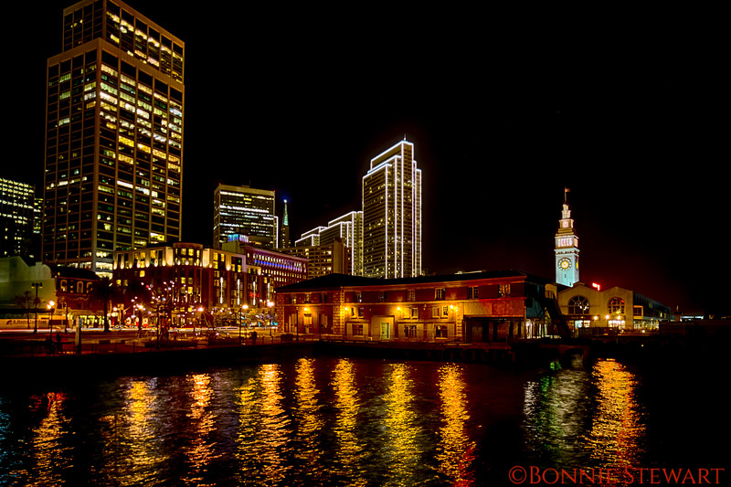 San Francisco Embarcadero from Pier 14
