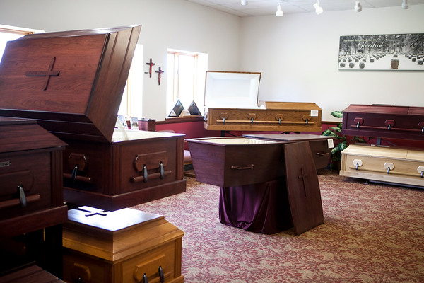 Abbey Caskets Showroom 2013
