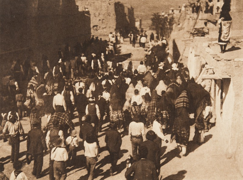 Procession of San Estevan, B - Acoma (The North American Indian, v. XVI. Norwood, MA, The Plimpton Press,  1926)