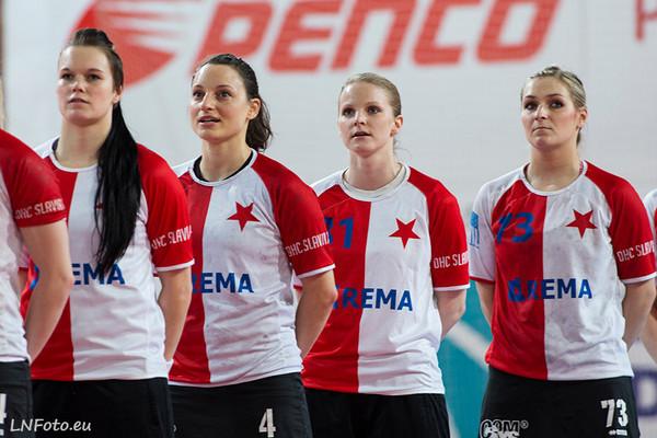 14.kolo: Slavia - Michalovce 29:24
