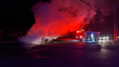West Chester Rd Car Fire