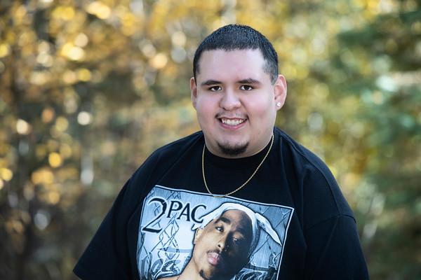 Jonathan Martinez Jr. Senior Portrait Pueblo Centennial 2020