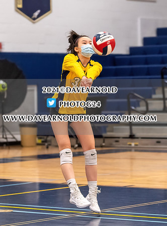 3/16/2021 - Girls JV Volleyball - Wellesley vs Needham