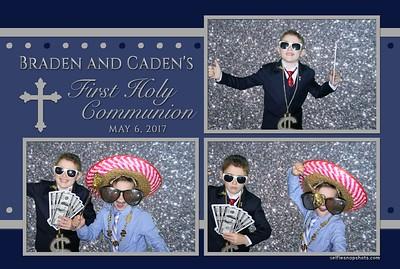 Braden & Caden's First Communion 5-6-2017