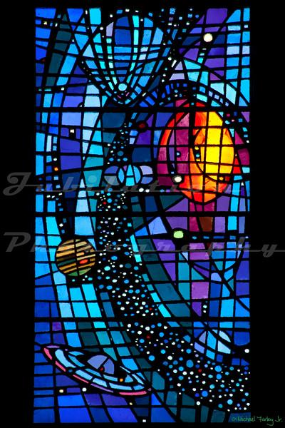 St. Paul's Episcopal Church - Six days of Creation windows - Day 4