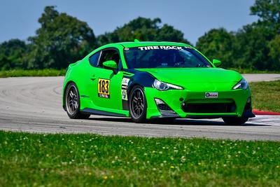 2021 SCCA Pitt Race Aug TT Green 183 Twin