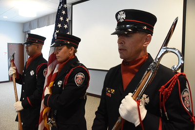 Fire Department hosts promotion ceremony. 7/21/2017