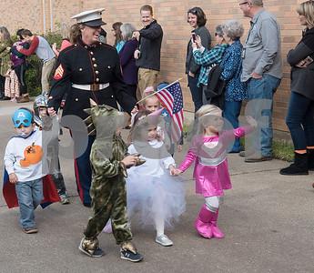 10/31/17 Kids' Kaleidoscope Preschool Costume Parade at Pollard United Methodist Church by Sarah A. Miller