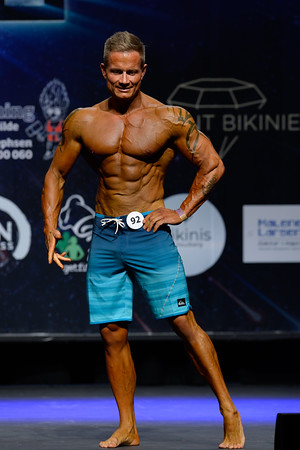 Novice Mens Physique Masters - Open Class