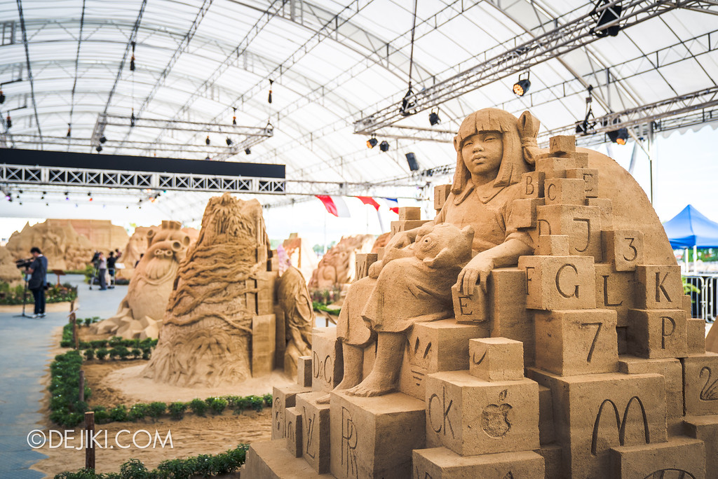 Sentosa Sandsation 2017 - Sentosa International Sand Sculpting Championship overview