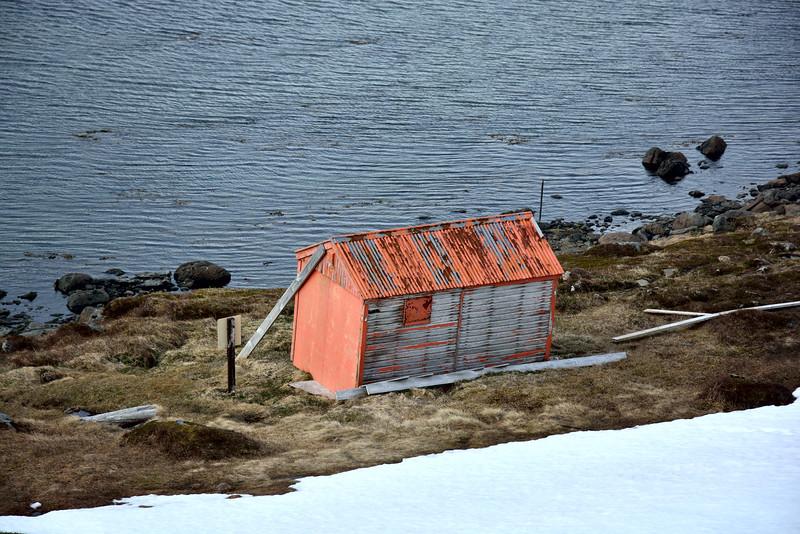Hrafnsfjörður. Björgunarskýlið.