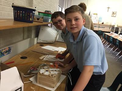 3 Little Pigs Houses - STEM