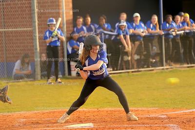 East Bladen 18 Whiteville softball