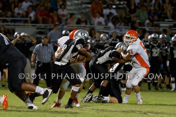 Boone Varsity Football #51 - 2011