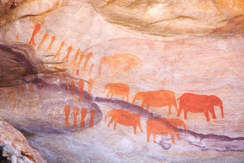 Cederberg rock paintings