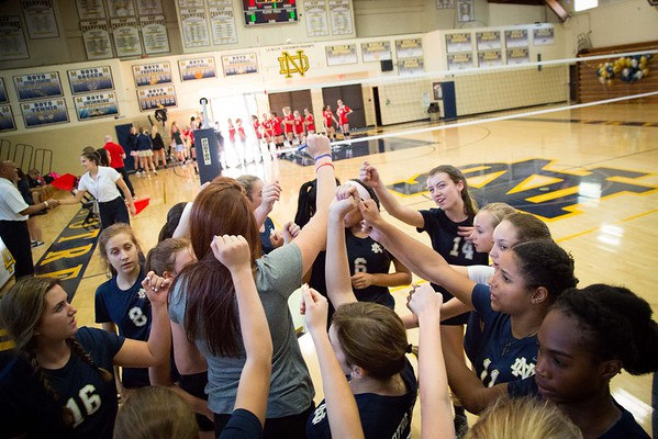 Girl's Volleyball 2015