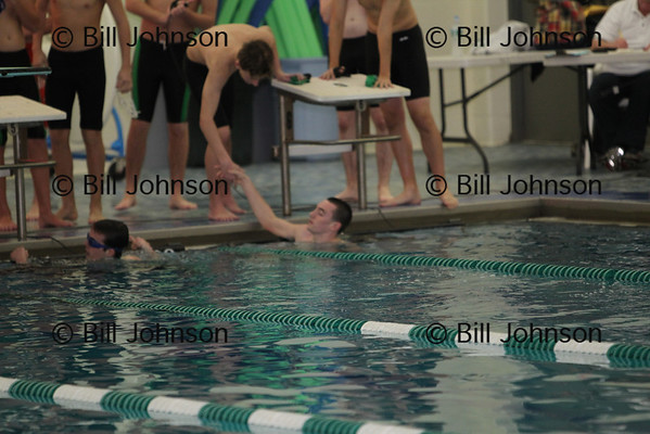 Boys Swimming Westwood v Bishop Feehan