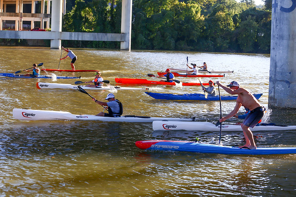 2020-09-30 Wed. Night 7k Paddle Race