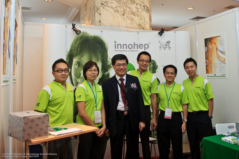 CT Low, Annie Eow, Dr Ng, Alan Yeo, CH Tham, Jack Chia - LEO Pharma