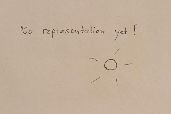 No representation yet
