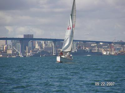 San Diego Harbor Cruising 9.22.07