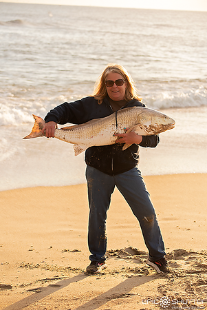 March 18, 2019 Cape Point, Red Drum, Fishing, Anglers, Fisherman, Buxton, North Carolina, Epic Shutter Photography, Outer Banks, North Carolina, OBX Fishing, Ginger Knight